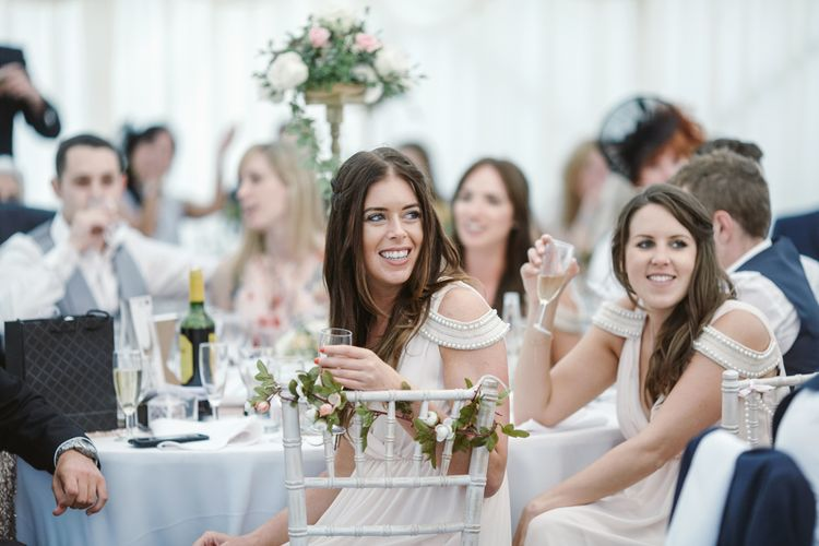 Bridesmaids Blush Pink ASOS Dresses   Natalie J Weddings Photography