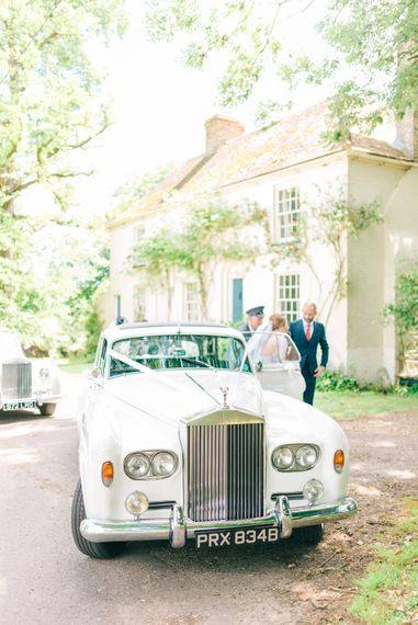 Traditional Wedding Car