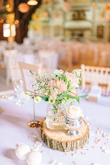 Rustic Table Centrepieces
