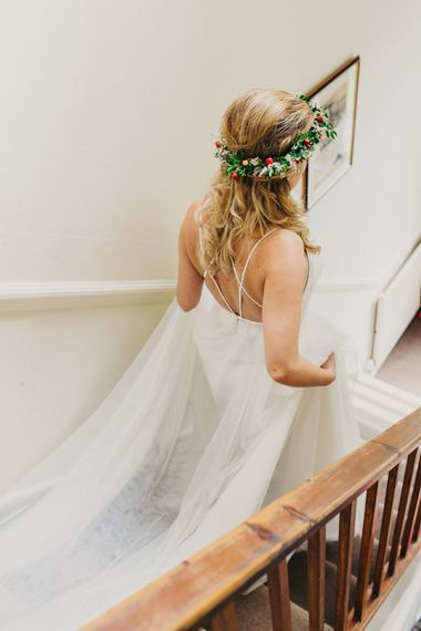 Bride in Madeira Willowby by Watters Wedding