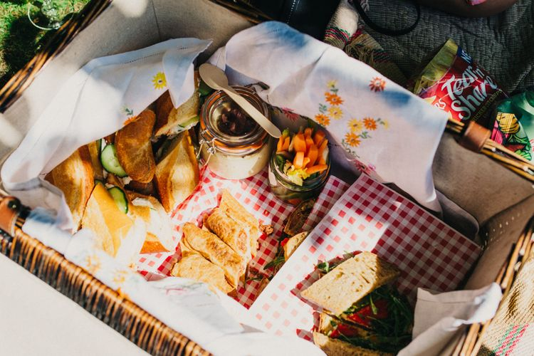 Picnic Basket Wedding Breakfast