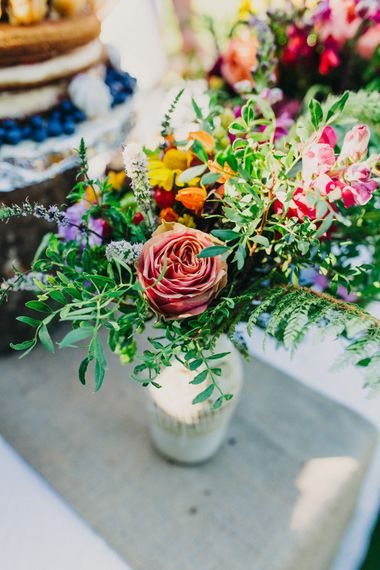 Bright Wedding Flowers Wedding Decor