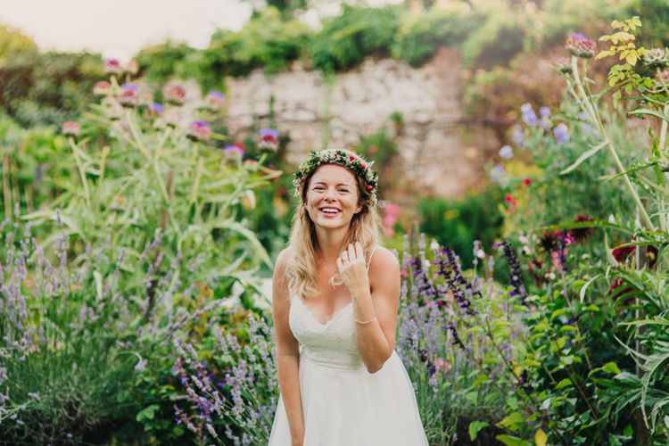 Bride in Madeira Willowby by Watters Wedding Dress