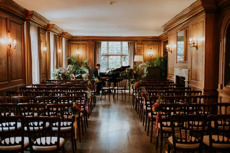 Wedding Ceremony Room At Burgh House London