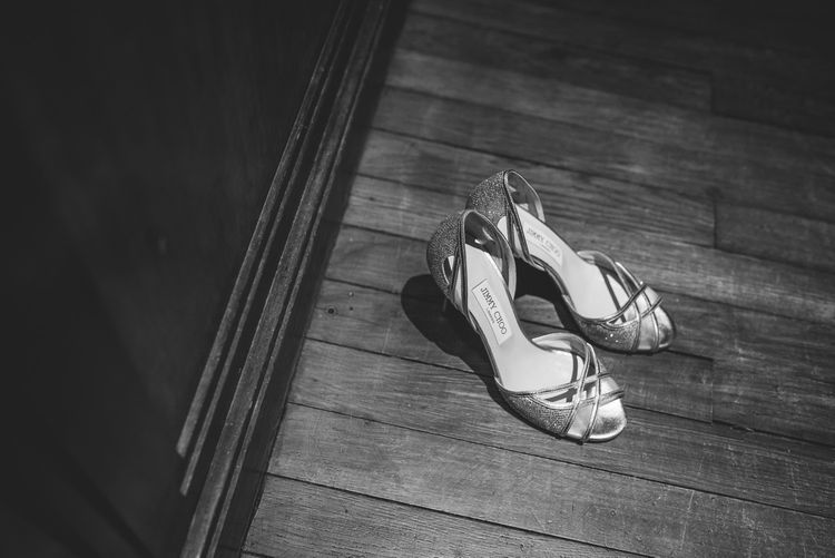 Jimmy Choo Bridal Shoes | Vintage Wedding at The Asylum & Town hall Hotel London | Kevin Fern Photography