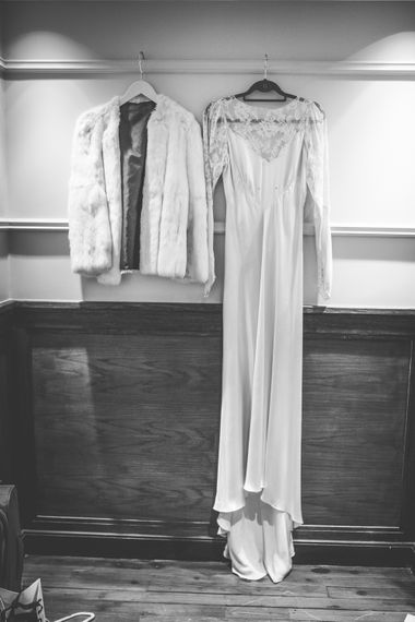 Story of My Dress Bridal Gown | Vintage Wedding at The Asylum & Town hall Hotel London | Kevin Fern Photography