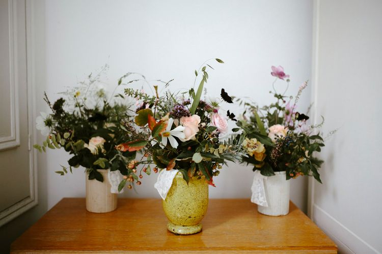Autumnal Wedding Bouquets