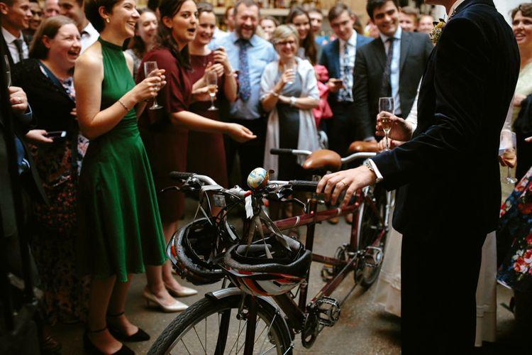 Tandem Bicycle Wedding Gift