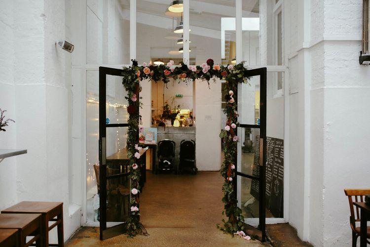 Floral Garland to St JOHN Entrance