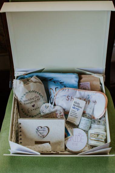Bridal To Be Survival Kit Box | D&A Photography | Ben Walton Films