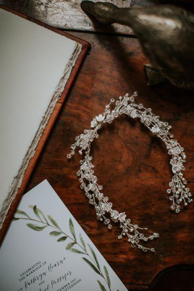 PS With Love Bridal Headpiece | D&A Photography | Ben Walton Films