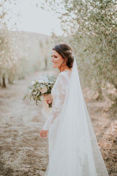 Bride in Morgan Davies Gown | D&A Photography | Ben Walton Films