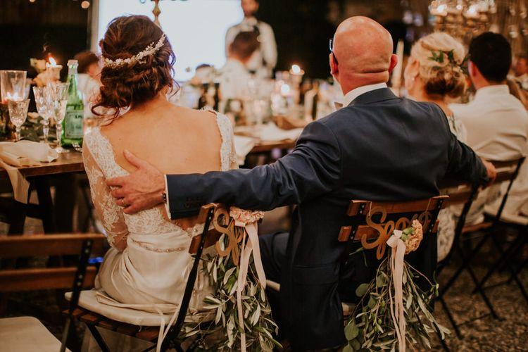 Elegant Italian Destination Wedding in Tuscan Hills Planned by Romeo & Juliet Weddings | D&A Photography | Ben Walton Films