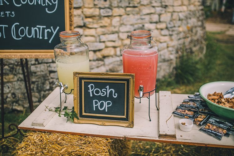 Chalkboard Signs For Wedding // Image By Story + Colour