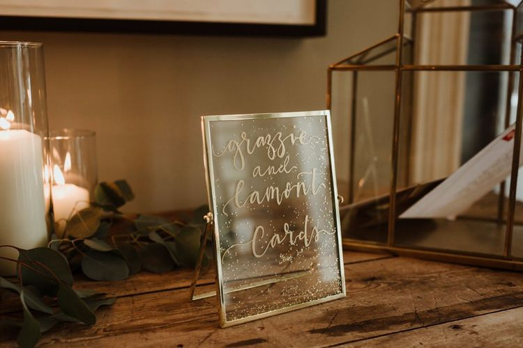 Gold Frame Details By The Golden Letter Image By The Curries