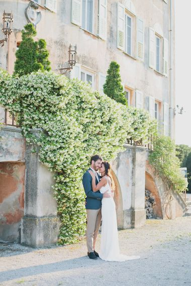 Bride & Groom   Greenery on the French Riviera   Purewhite Photography   D'amour et de deco Styling