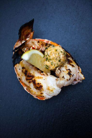 Wedding Lobster // Wedding Venue For Foodies Hampton Manor Hampton In Arden // Exclusive Use Wedding Venue With Michelin Star Restaurant Food Lovers Wedding
