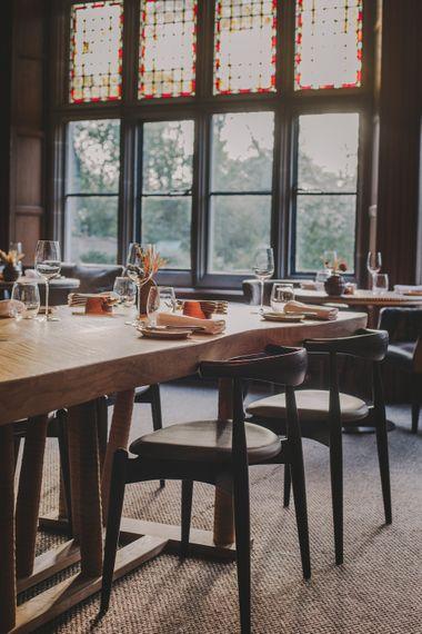 Peel's Restaurant // Wedding Venue For Foodies Hampton Manor Hampton In Arden // Exclusive Use Wedding Venue With Michelin Star Restaurant Food Lovers Wedding