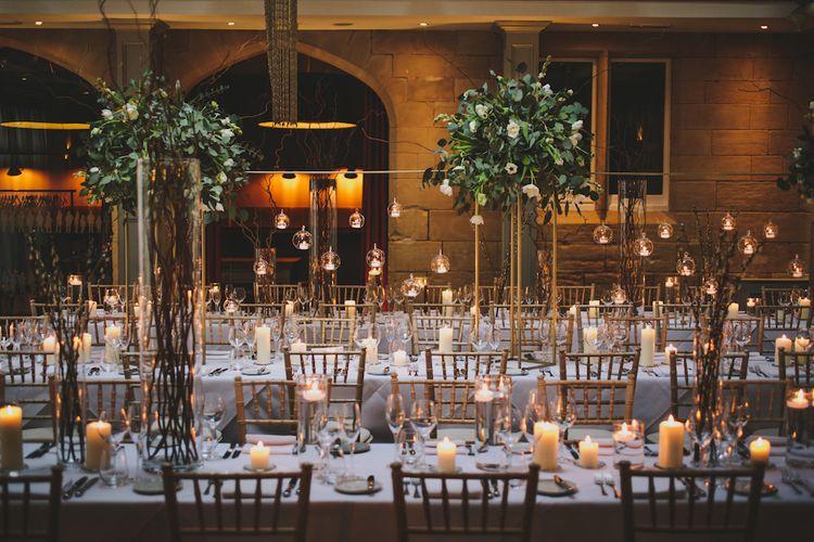 The Courtyard // Wedding Venue For Foodies Hampton Manor Hampton In Arden // Exclusive Use Wedding Venue With Michelin Star Restaurant Food Lovers Wedding