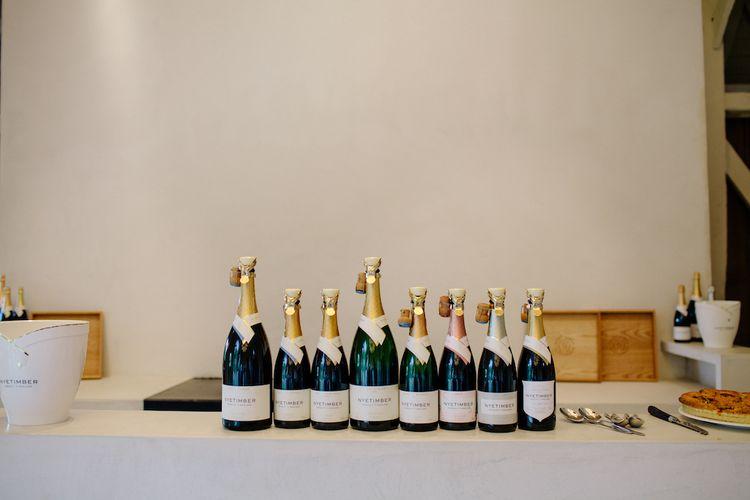 Nyetimber English Sparking Wine // Wedding Venue For Foodies Hampton Manor Hampton In Arden // Exclusive Use Wedding Venue With Michelin Star Restaurant Food Lovers Wedding