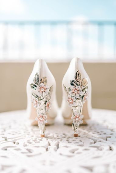 Harriet Wilde Embellished Wedding Shoes