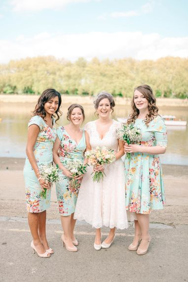 Bridesmaids In Floral Print