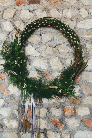 Foliage Wreathe For Wedding