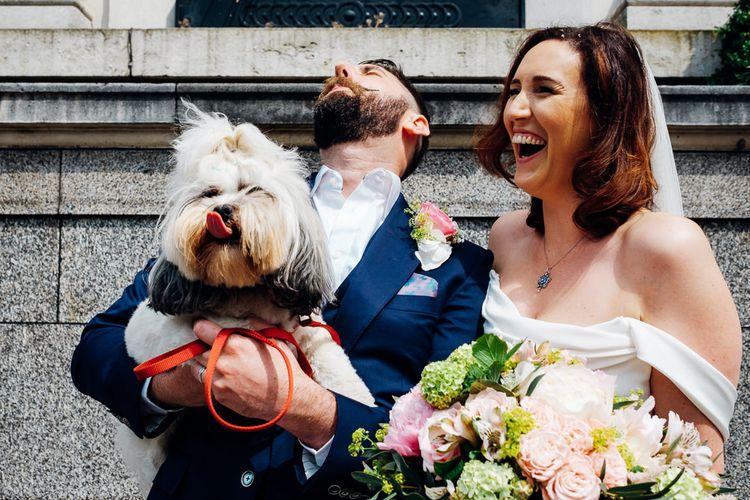 Confetti Moment | Islington Town Hall Wedding | Marianne Chua Photography