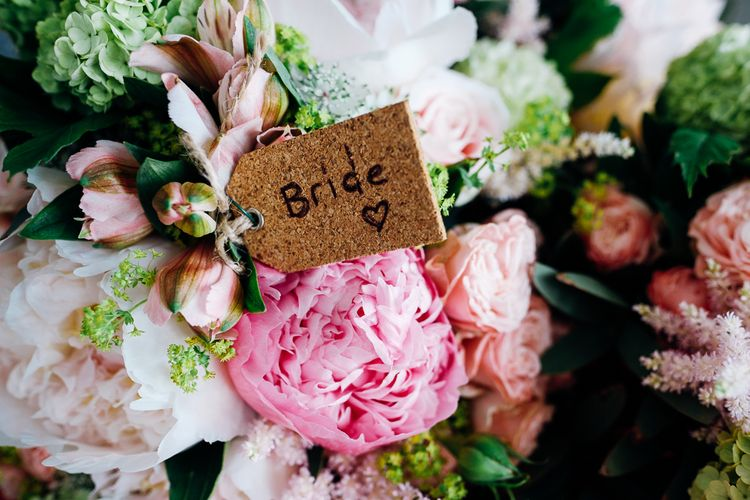 Pink Peony Bridal Bouquet | Marianne Chua Photography