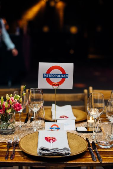 London Underground Wedding Decor | Urban Wedding at Village Underground, London | Marianne Chua Photography