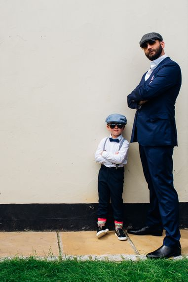 Groom & Page Boy | Urban Wedding at Village Underground in London | Marianne Chua Photography