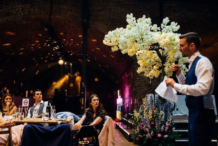 Speeches | Urban Wedding at Village Underground, London | Marianne Chua Photography
