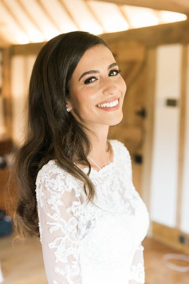 Bride in Lace Annasul Y Gown