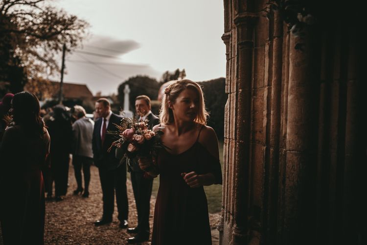 Bridesmaid in Rewritten Dress