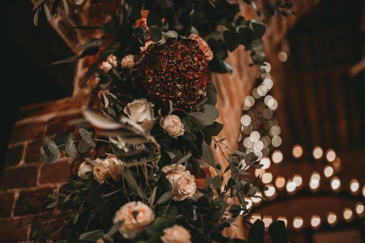Floral Decor At Wedding