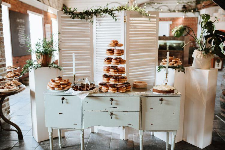 Krispy Kreme Donut Table For Wedding