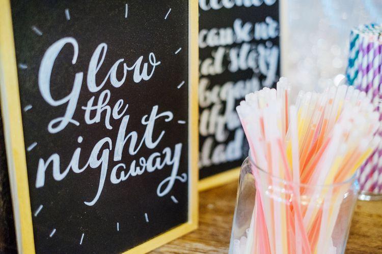 Glow Sticks For Wedding Reception