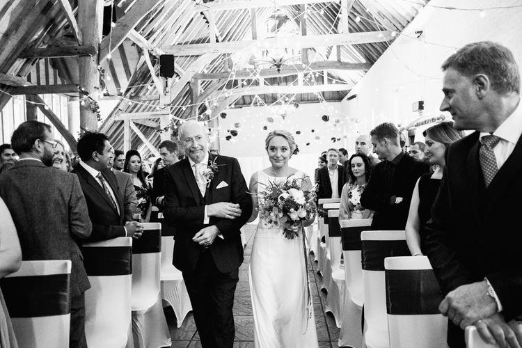 Bride & Father Aisle Walk