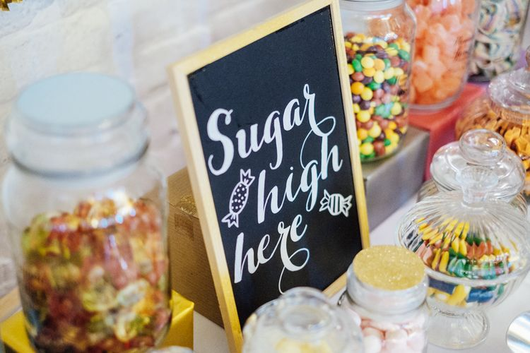 Sweetie Bar At Wedding