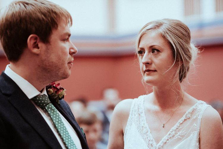 Relaxed Leeds City Wedding With Botanical Theme