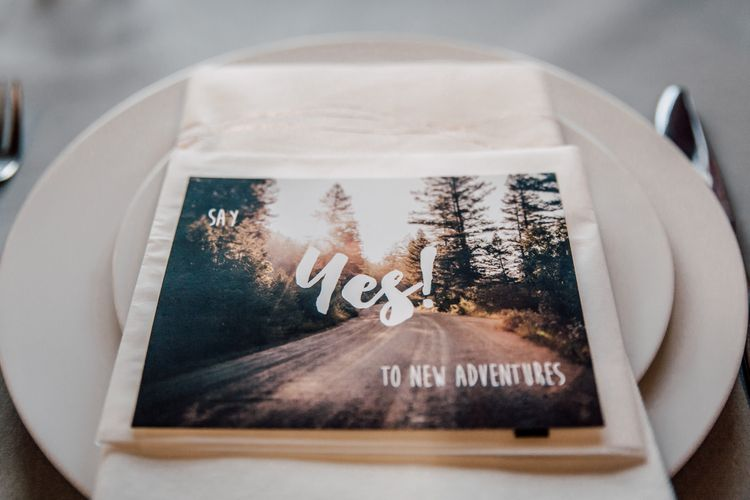 Say Yes To Adventures Wedding Stationery | Paul & Nanda Photography