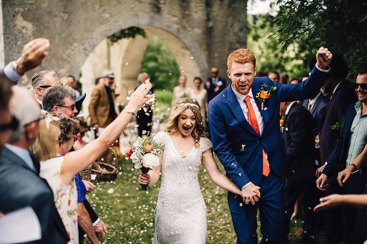 Outdoor Humanist Ceremony Married | Confetti