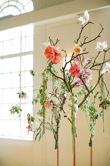 Magnolia Branches   Stylish Hackney Town Hall Wedding   Camilla Arnhold Photography   This Modern Revelry Film