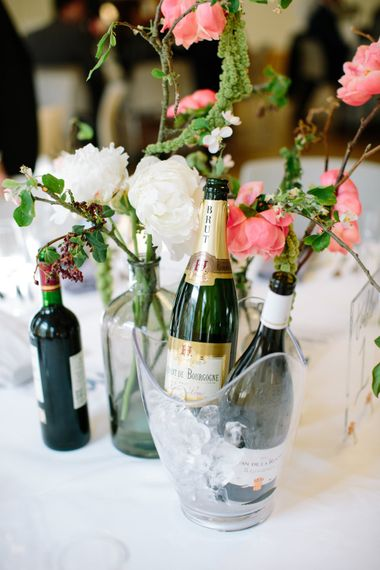Table Centrepiece   Stylish Hackney Town Hall Wedding   Camilla Arnhold Photography   This Modern Revelry Film