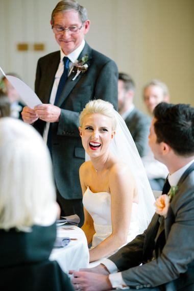 Beautiful Bride   Stylish Hackney Town Hall Wedding   Camilla Arnhold Photography   This Modern Revelry Film