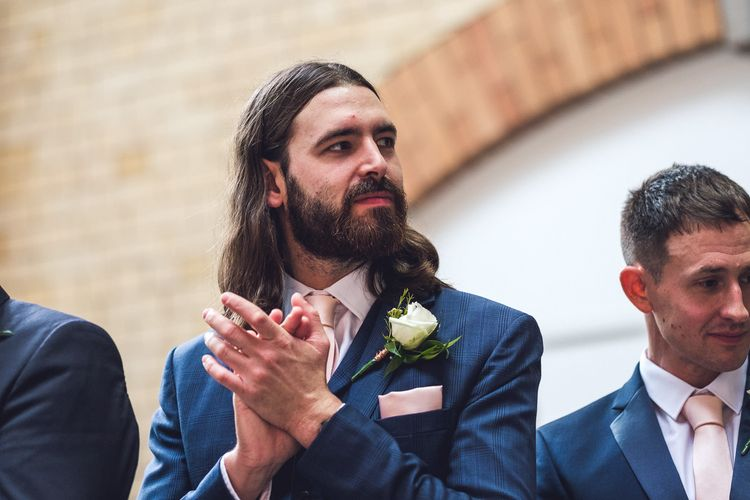 Wedding Ceremony | Wedding Guest | Contemporary City Wedding at People's History Museum & Hope Mill Theatre, Manchester Planned by Alternative Weddings MCR | Babb Photography