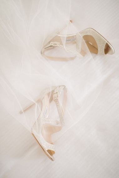 Jimmy Choo Shoes | Elegant, Pastel Wedding at Hedsor House, Buckinghamshire | M & J Photography | Shoot It Yourself Films