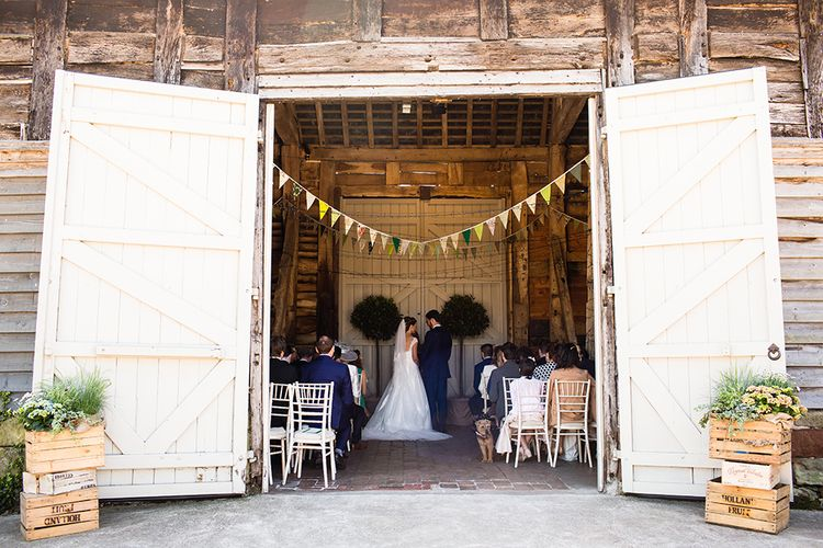 Rustic Wedding at Pimhill Barn
