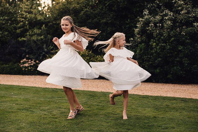 Flower Girls in Monsoon Dresses