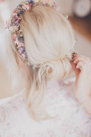 Chic Chignon Bridal Up Do